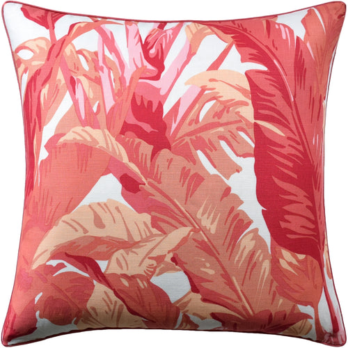 Travelers Palm Pillow-Pink