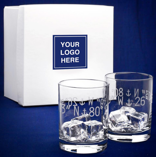 Coordinates Glasses - Set of Two - Realtor