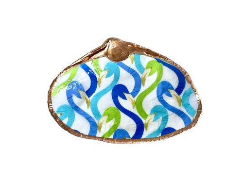 Decoupage Clam Shell