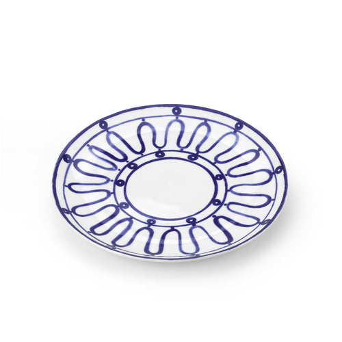 Blue Kyma Porcelain Dinner Plate