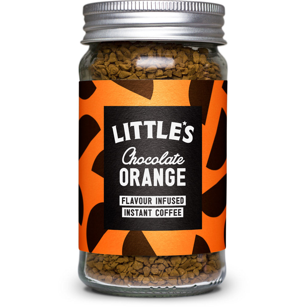 Chocolate Orange Flavour Infused Instant Coffee