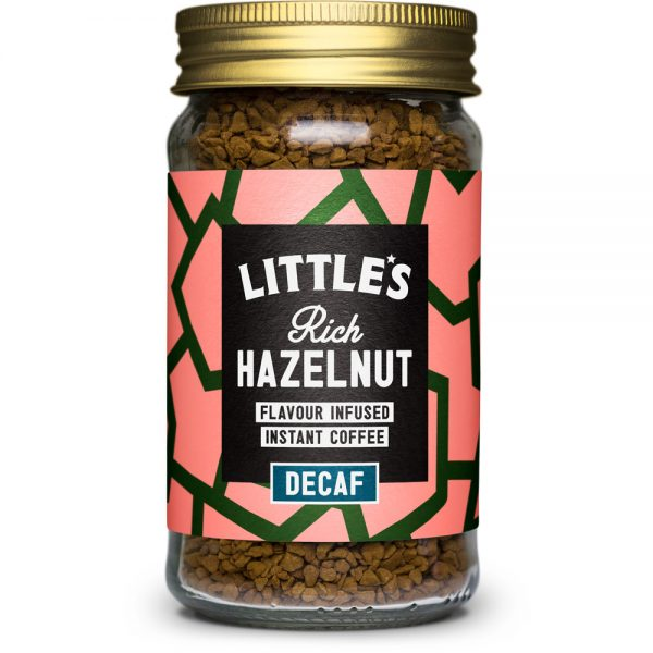 Decaf Rich Hazelnut Flavour Infused Instant Coffee