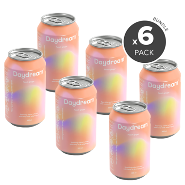 Peach Ginger - 6 Pack