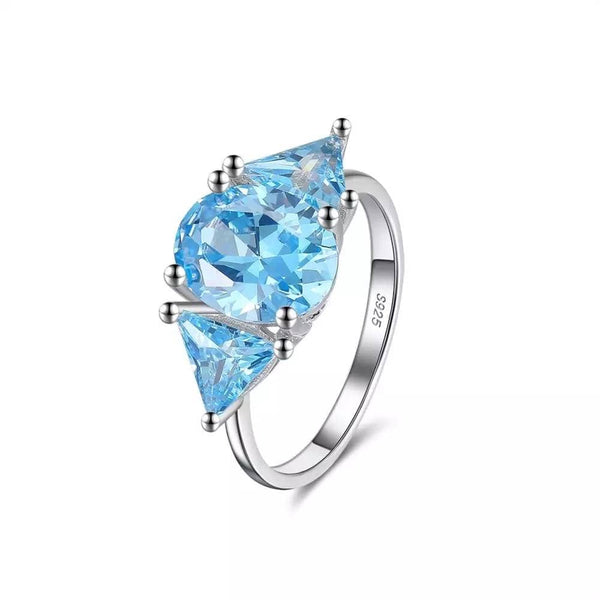 Blue Galore Ring