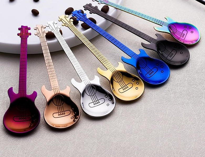 1pcs Stainless Steel Guitar Shaped