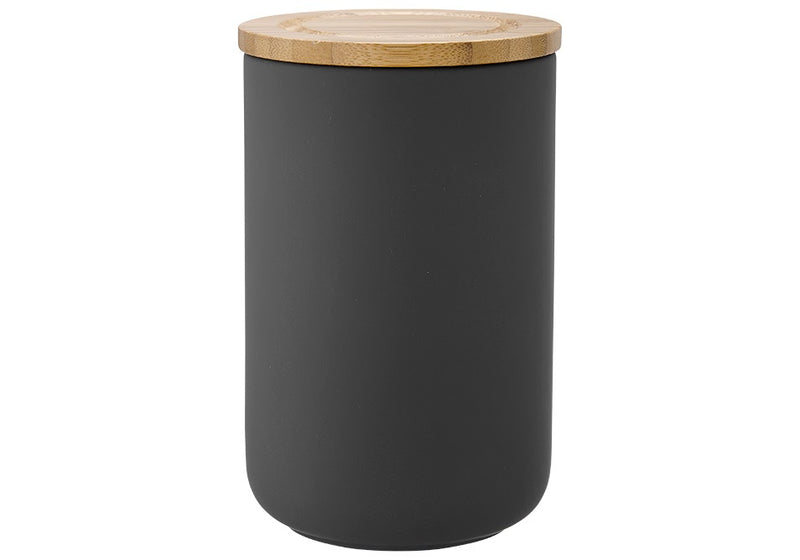 Charcoal Soft Touch Canister (Large)