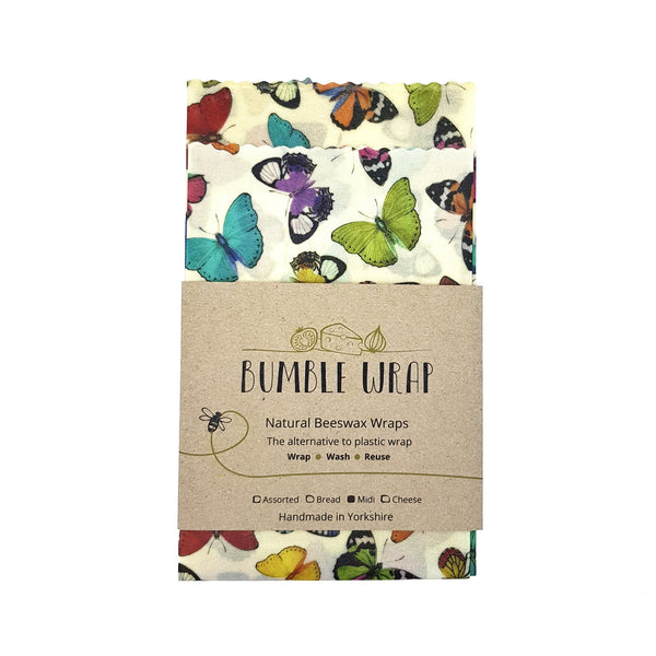 Bumble Wrap - Butterfly - Midi 2 Pack