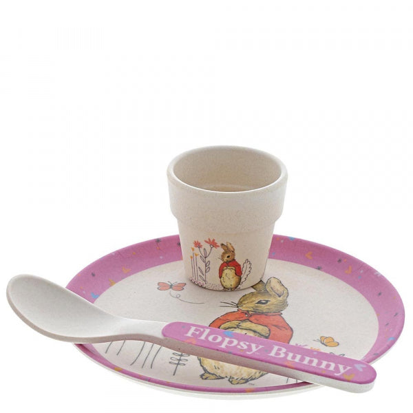 Flospy Bamboo Egg Cup Dinner Set