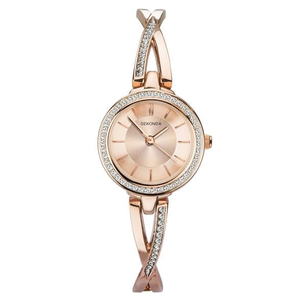 Rose Gold Plated Dress Watch