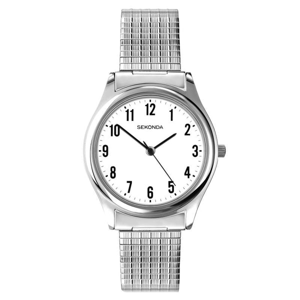 Mens's Stainless Steel Bracelet Watch