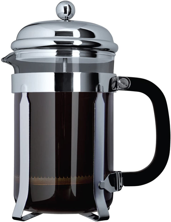 Cafe Ole 8 Cup Cafetiere - Chrome