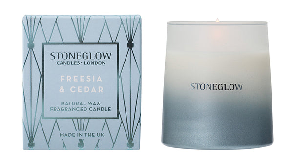 Freesia and Cedar Candle