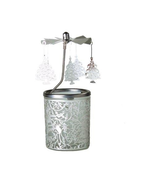 Christmas Tree Carousel Candle Holder