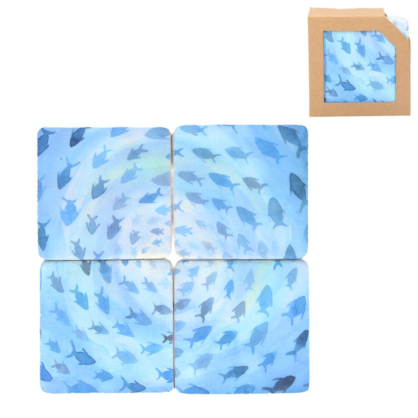 Gisela Graham - Fish Coasters (Set of 4)