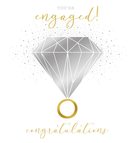 You're Engaged! Congratulations Card