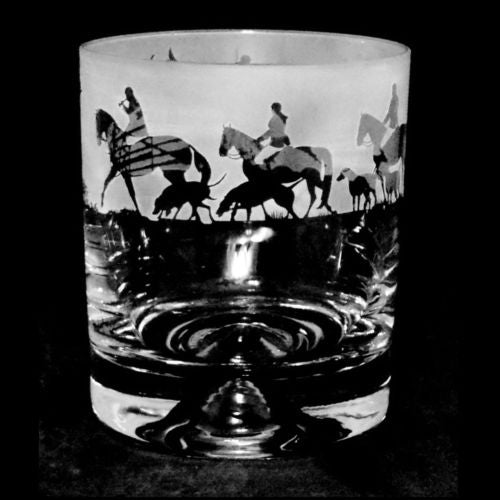 Hunting Whisky Glass