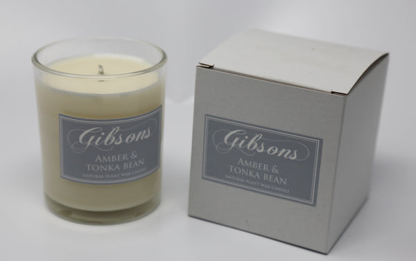 Amber & Tonka Bean Votive Candle - 180g