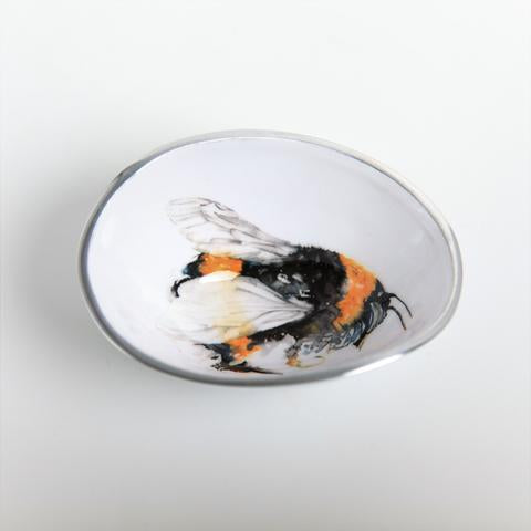 Petite Oval Bowl - Bee