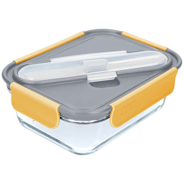 Built Complete Lunch Set - Grey & Yellow 900ml