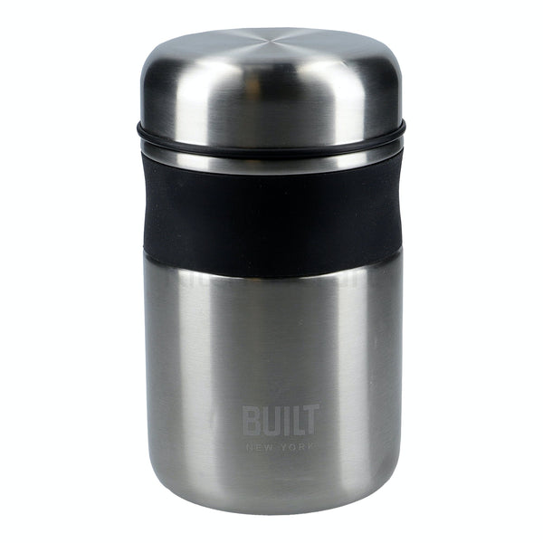 Double Wall Insulated Food Flask - Stainless Steel