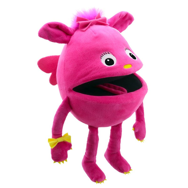 Baby Monster Hand Puppet- Pink