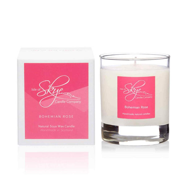 Bohemian Rose Small Tumbler  Candle