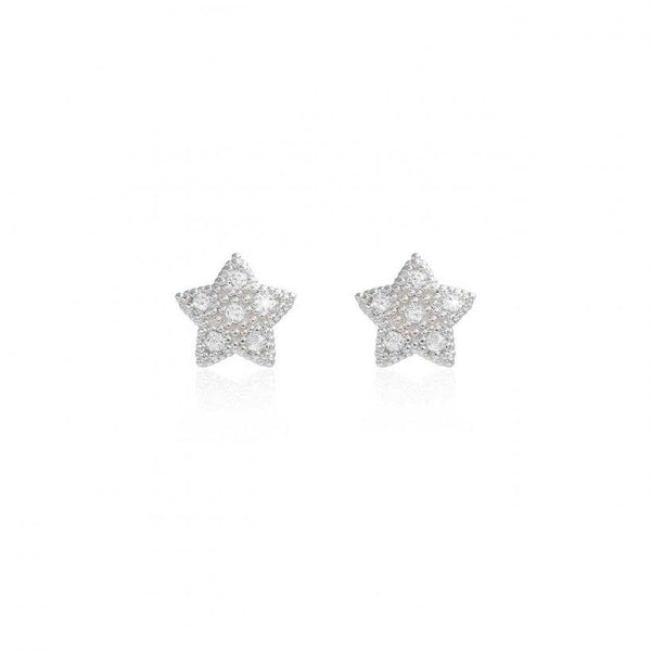 Bella Pave Star Stud Earrings