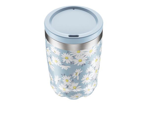 Chilly's Coffee Cup - Floral Daisy (340ml)