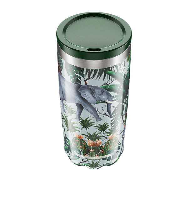 Chilly's Coffee Cup - Tropical Elephant (500ml)