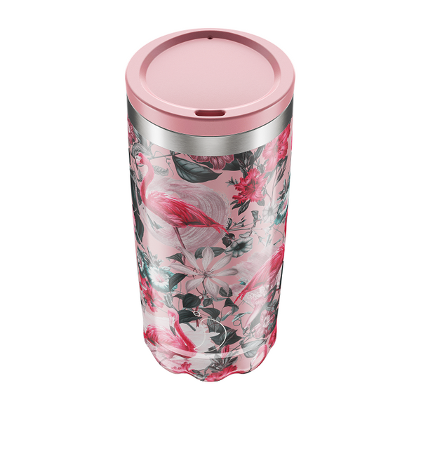 Chilly's Coffee Cup - Tropical Flamingo (500ml)
