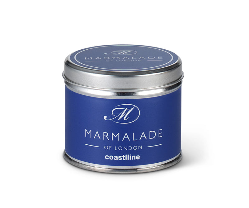 Coastline Medium Tin Candle
