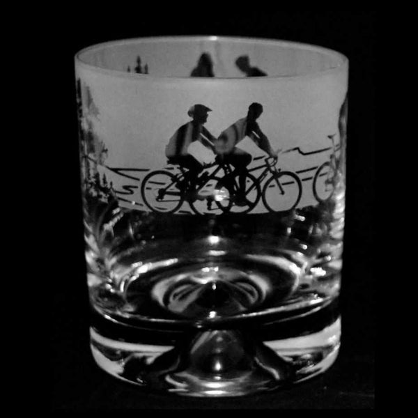 Cycling Whisky Glass