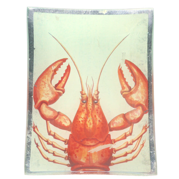 Gisela Graham - Medium Crab Glass Plate