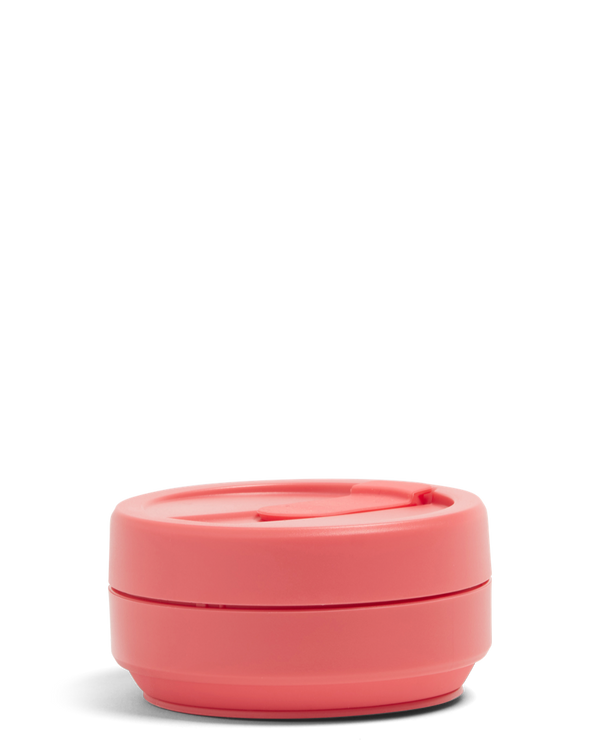 Collapsible Pocket Cup - Coral 12oz