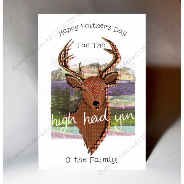 High Heid Yin Father's  Day Card