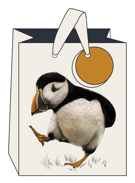 Puffin Gift Bag- Medium