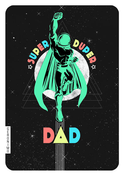 Super Duper Dad Card