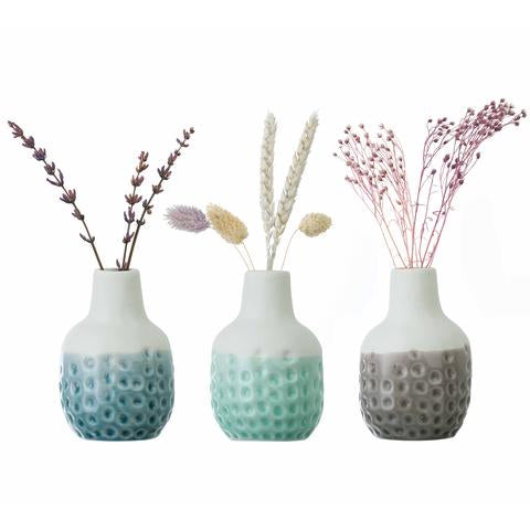 Dotty Mini Vase Trio