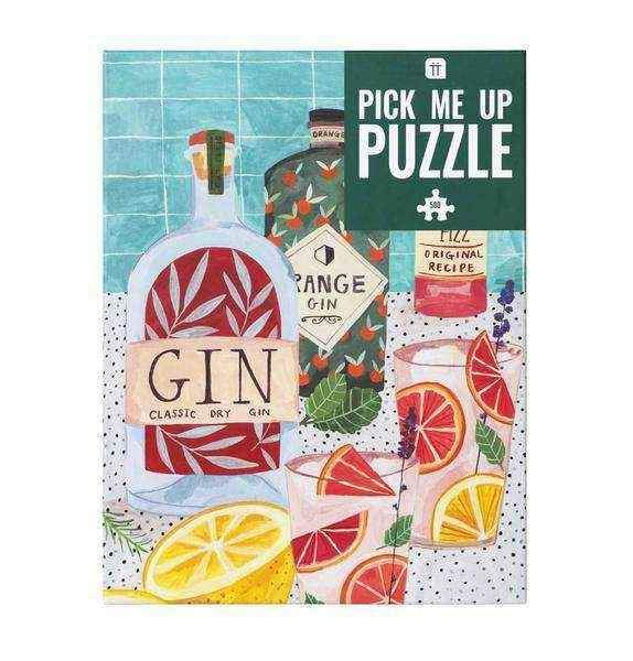 Pick Me Up Jigsaw Puzzle Gin