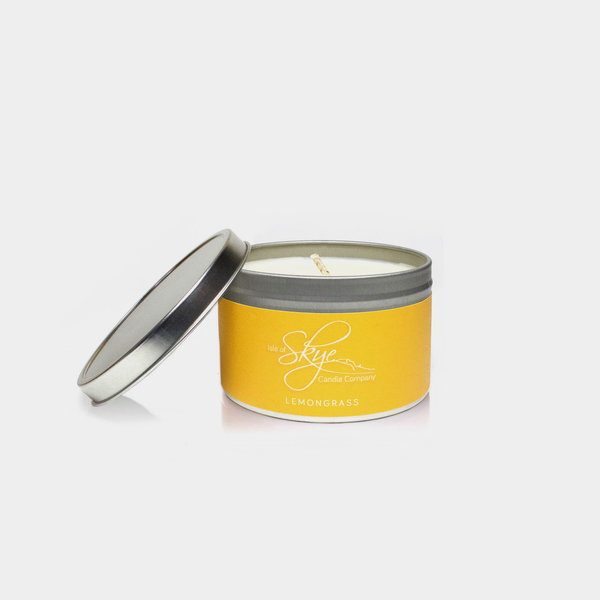 Lemongrass Travel Tin Candle
