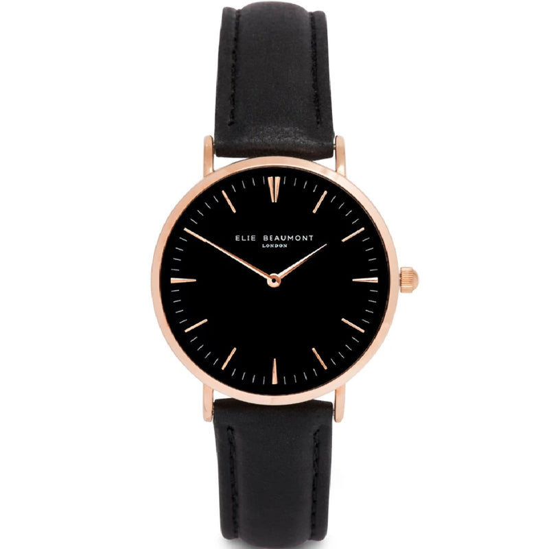Oxford Large Watch - Black
