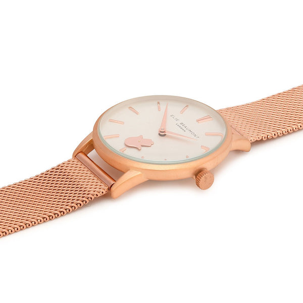Hampton Hamsa Watch - Rose Gold