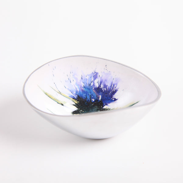 Small Oval Bowl - Thistle