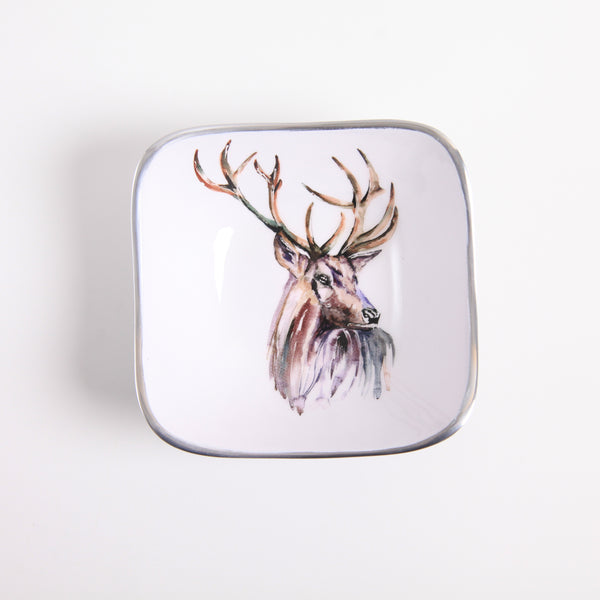Square Bowl - Stag