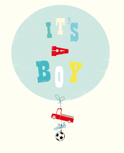 It's A Boy- Card