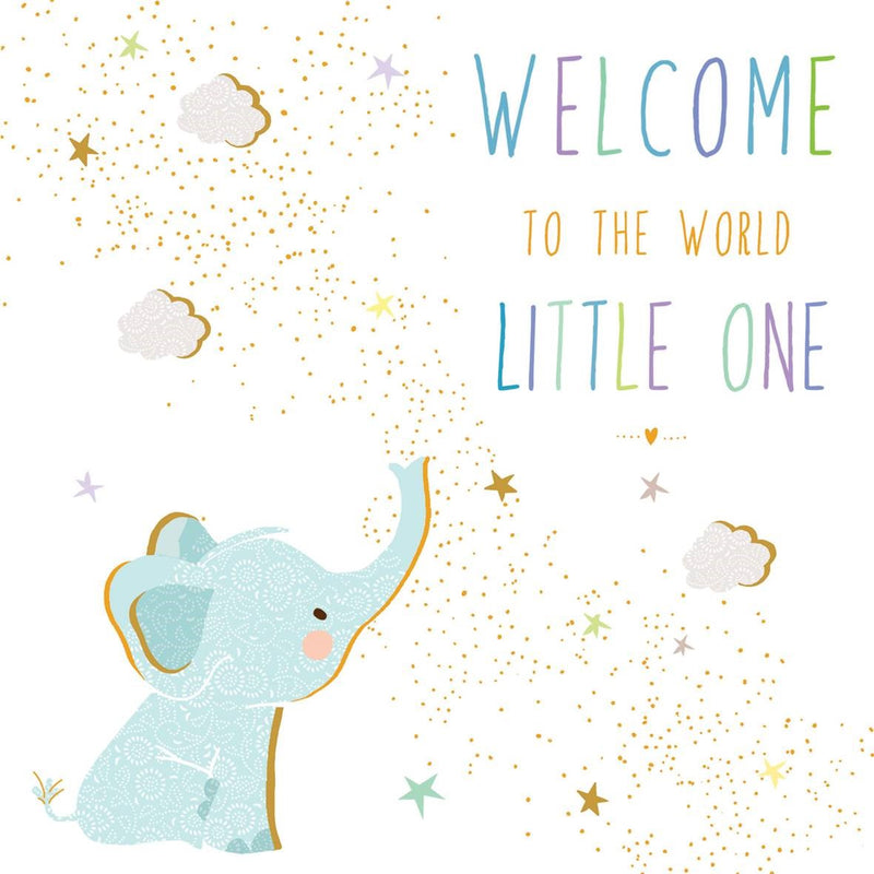 Welcome To The World Little One Card
