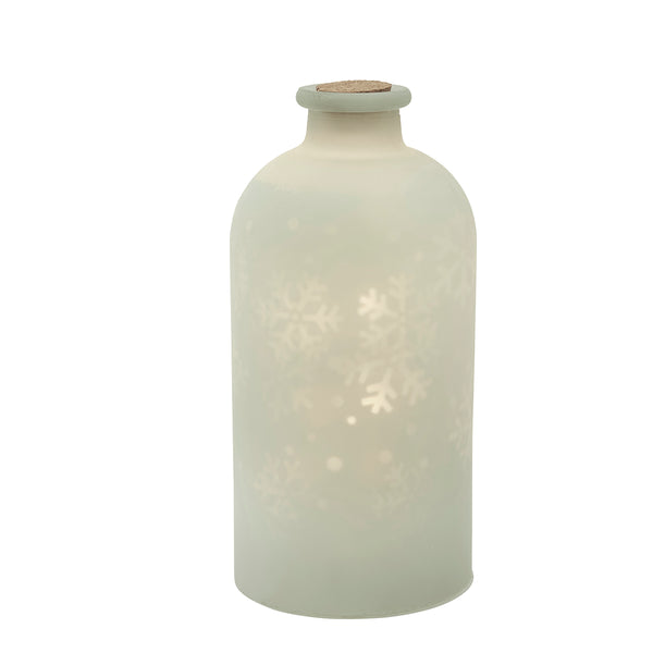 Snowstorm - Moving Snowflakes LED Bottle