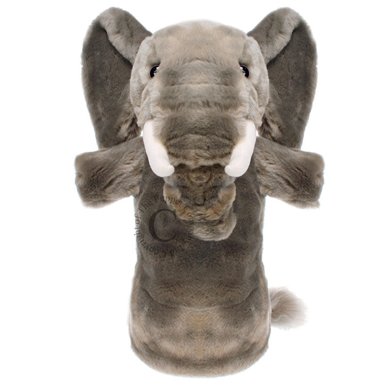 Long Sleeved Glove Puppet- Elephant