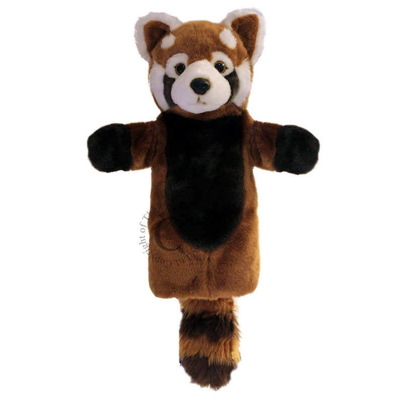 Long Sleeved Glove Puppet- Red Panda
