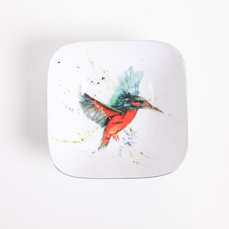 Square Bowl - Kingfisher